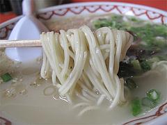 6ランチ:ラーメン麺@中華料理・龍園・薬院