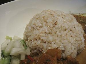 11雑穀米とアチャール@マノマ
