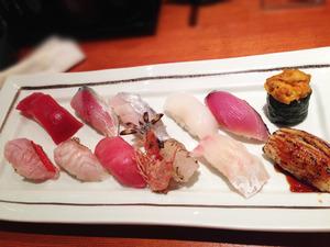 12寿司12貫セット@すし磯貝