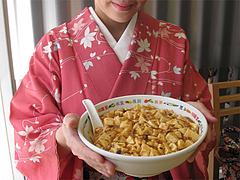 10ランチ:麻婆麺(マーボー麺)700円@にい好(ニイハオ)朋友・六本松