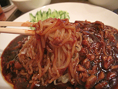 料理:ジャージャー麺@点心楼・台北・清川