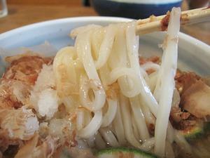 15かぼすの冷しうどん麺@十金