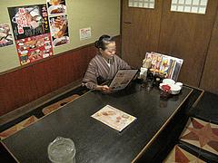 3店内:掘り炬燵式テーブル@居酒屋しょうき・大橋店