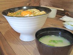 料理:北崎鶏親子丼側面@北崎鶏・親子丼・長浜ざうお