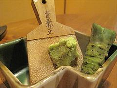 料理:おまかせコース2わさび:いも焼酎@博多一梅(ひとばい)