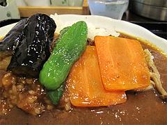 料理:野菜カレーセットの野菜@博多伽哩家かかろっと