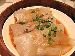 料理(香茜牛肉腸粉):牛肉と香り野菜のクレープ包み蒸し@CHINA(チャイナ)・グランドハイアット福岡・キャナルシティ博多