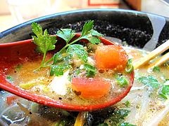 料理:白豚骨ラーメンスープ具@拉麺空海・雑餉隈駅前店