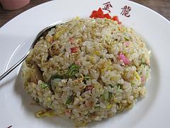 料理:ミニ焼飯@金龍食堂・親富孝通り・天神