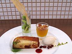 10ランチ:デザートプレートアップ@食堂シェモア・フレンチ・イタリアン・洋食