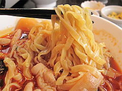 17ランチ:四川ホルモンラーメン麺@中華・同福居