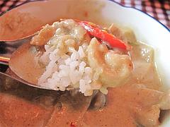 料理:グリーンカレー食べる@カオサン・タイ料理・薬院