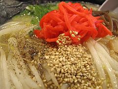 ランチ:紅ショウガ・胡椒・ゴマ@麺屋・福芳亭ラーメン・平尾