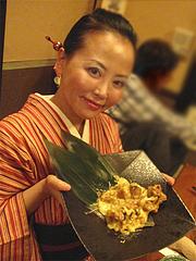 居酒屋:若鶏とチーズのオーブン焼き@博多鶏と麺こはる・ラーメン居酒屋