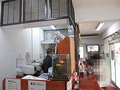店内:カウンター@中華そば源ゴロー・上呉服町