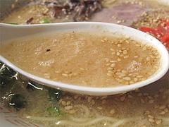 料理:ラーメンスープ@白雲軒・福岡