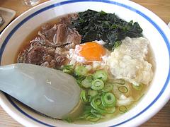 料理:スタミナうどん490円@筑前うどん黒田藩・井尻