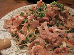 料理:酢もつ520円@餃子・高砂遊心