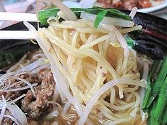 料理:台湾ラーメン麺@点心楼・台北・薬院店