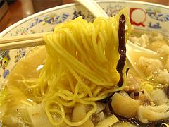 猪蹄麺(豚足麺)の麺@大明担担麺(だいめいたんたんめん)博多デイトス店