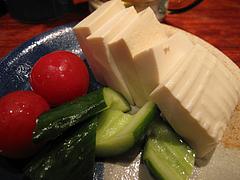 7居酒屋:豆腐の浅漬け@うず・魚串・警固