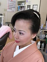 和装アップ(着物ヘア)6@シキシマ美容院
