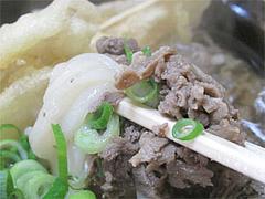 料理:肉ごぼう食べる@うどん平(たいら)・博多駅前
