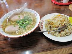 料理:ミニヤキメシセット680円@中国飯店・福岡市中央区平和