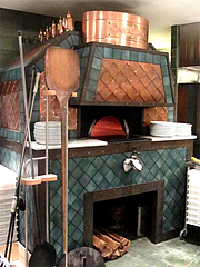 店内:ピザ窯@Pizzeria Da Gaetano(ピッツェリア・ダ・ガエターノ)・薬院・福岡