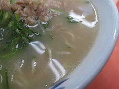 ラーメン:ナシカタのスープ@元祖長浜屋