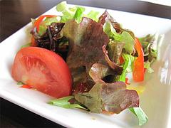 ランチ:カツ丼のサラダ@ドッグカフェレストラン・ワンパーク大濠店