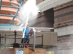 体感型噴水ショー@キャナルシティ博多