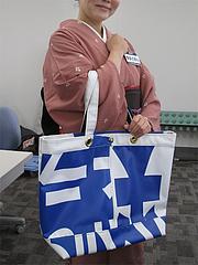 1NEXCO西日本・アップサイクル・トートバッグ6,800円@SAPA麺王決定線2012