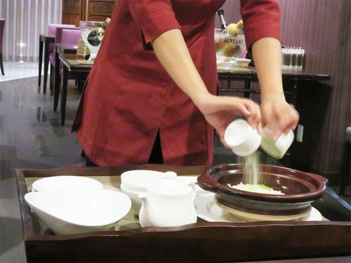 17香港式お焦げ雑炊1