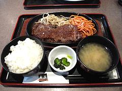 7ランチ:限定数ビーフステーキ定食@益正食堂・麦野店・居酒屋