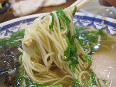 料理:ラーメン麺@トキハラーメン・天神