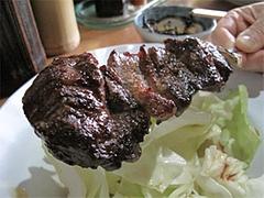 料理:和牛さがり(100g)600円@焼鳥牛作・福岡市中央区小笹