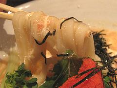 料理:明太おうどんの麺@かほうや・うどん・赤坂