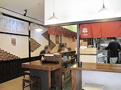 2店内:カウンター@博多ラーメン・未羅来留亭(ミラクル亭)・平尾