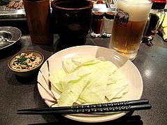 料理:焼鳥のキャベツ@天下の焼鳥・信秀本店