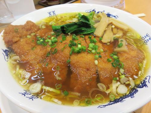 7排骨パーコー麺750円