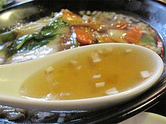 ランチ:あんかけ中華そばスープ@生煎酒場ゑびす家(えびす家)・天神今泉