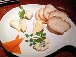 15チーズ盛り合わせ@サロン・ア・ディネ・ガルリ
