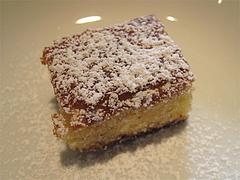 12ランチ:レモンとレーズンのケーキ@ピッツェリア・ファリーナ・渡辺通・高砂