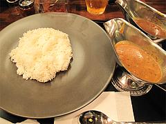 料理:サンキューカレー・ダブルソース390円@サンキューカレー(あんくる)・サンセルコ