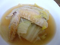 圧力鍋で作る!鶏手羽と白菜のスープ