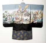 五歳男児羽織袴 兜2
