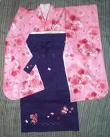 7sai Pink furisode & Hakama