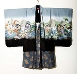 五歳男児羽織袴 兜1