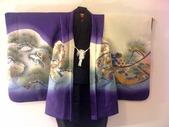 Haori&Kimono-Murasaki-Kabuto Front